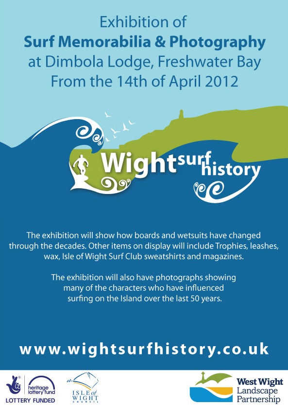 Wight Surf History Exhibition of Surf memorabilia and Photography