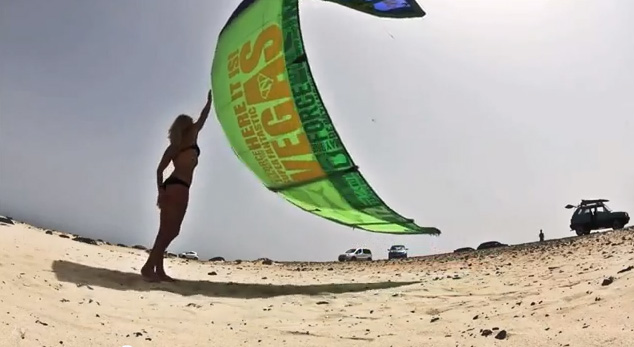 Dirty Panda – Kiteboarding video from Tom Court