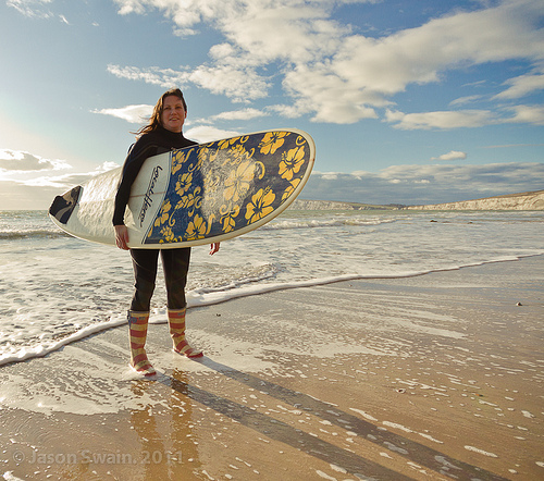 Surf Chick – Got Wellies, Will Surf