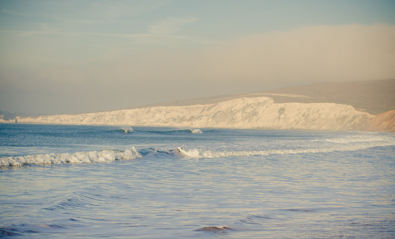 Winter Surf check at Compton Bay