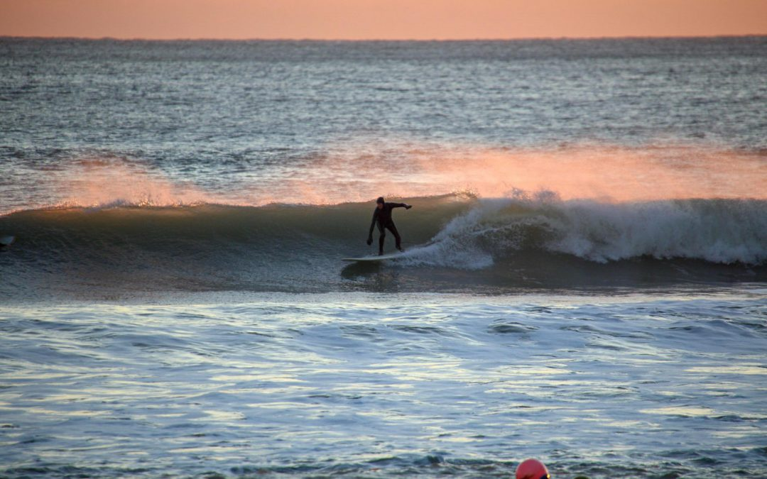 A few fun ones – Winter surfing at Freshwater Bay