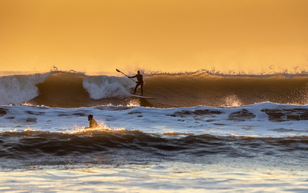 The 2018 winter surfing season has begun…