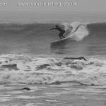longboard take off