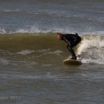 Elliot Gray making the surf look over head high