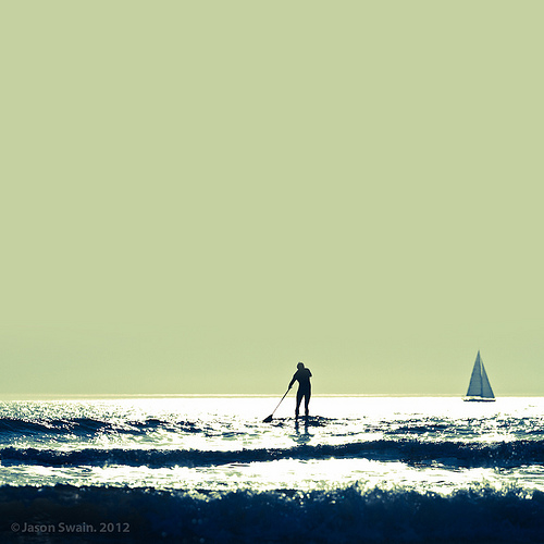 The Sweeper – Isle of Wight SUP