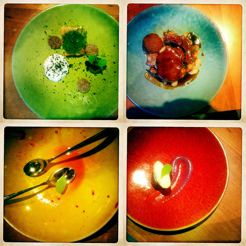 The tenuous surfing link restaurant review / blog – Justin Brown at Farringford