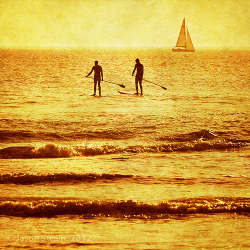 Isle of Wight SUP – Pond skimmers