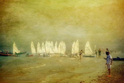 Sea Fog at Priory Bay, Isle of Wight