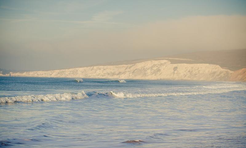 Winter Surf check at Compton Bay