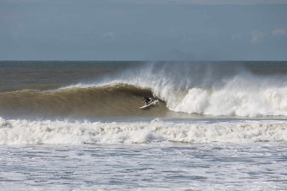 Wave of the day – Big Easter Swell on the Isle of Wight