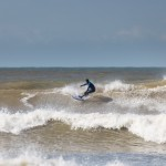 Big Easter swell at Compton Beach