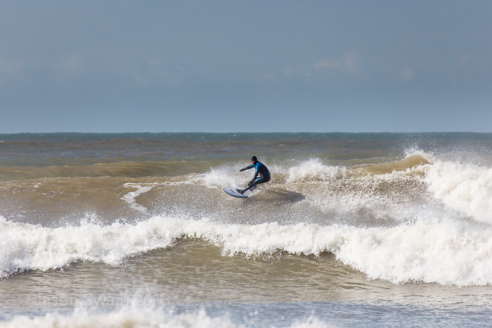 Big Easter Swell at Compton Bay, Isle of Wight (part two)