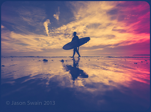 September Sessions – Surfing on the Isle of Wight.