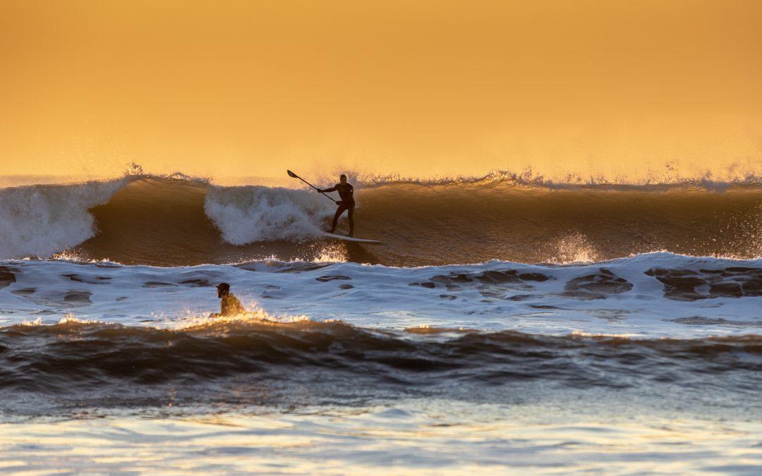 The 2018 winter surfing season has begun…